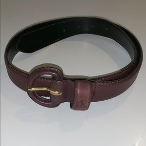 Calvin Klein dark brown belt